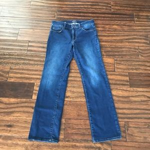 NYDLJ blue jeans for women size 6P